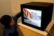 ابداع تلویزیون جدیدی كه می توان وارد آن شد!