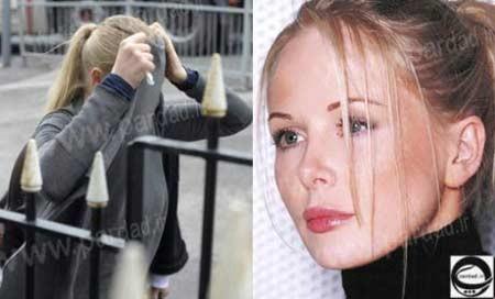 بازداشت مشهورترین مدل بریتانیا به دلیل مستی +عکس