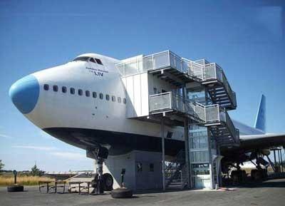 هتل هواپیمایی , هتلی به شکل هواپیما