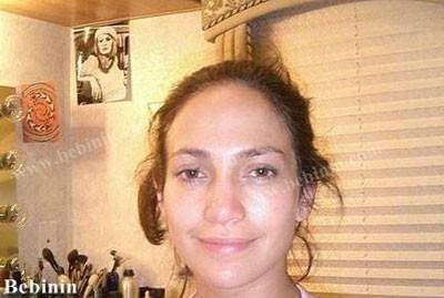 آرایشگر جنیفر لوپز راز زیبایی او را بیان کرد + عکسی قبل و بعد از آرایش