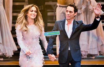 اجرای مشترک جنیفر لوپز و همسر سابقش در یک شوی تلویزیونی!! + عکس