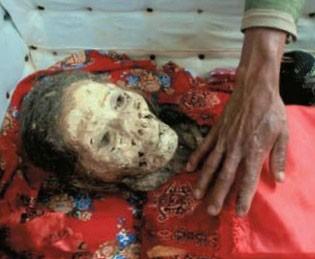 مردگان شرق آسیا , تمیز کردن مردگان