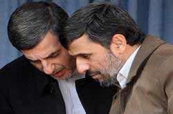 مشايي و احمدي نژاد