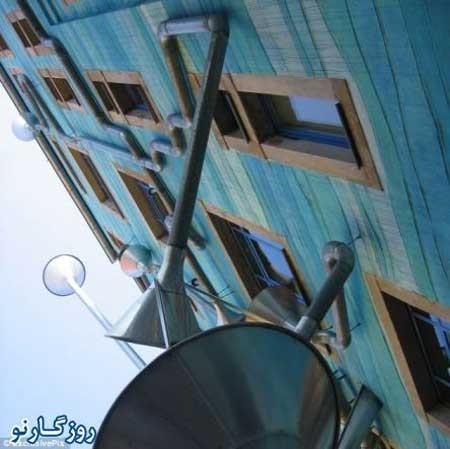 مطالب داغ: خانه ای که هنگام باران ساز می زند!