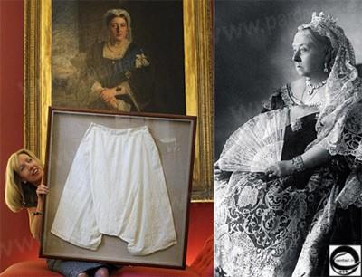 ملکه ویکتوریا,حراج جوراب ملكه ويكتوريا