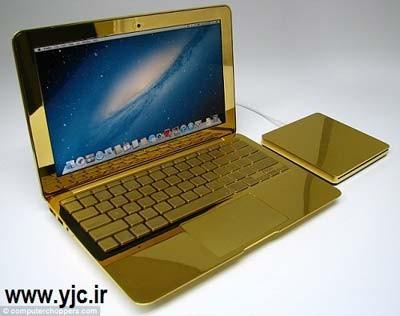 لپ تاپ,لپ تاپ طلا,لپ تاپ اپل,اخبار