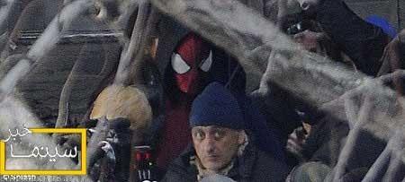 جدیدترین تصاویر از پشت صحنه مرد عنكبوتی شگفت انگیز 2