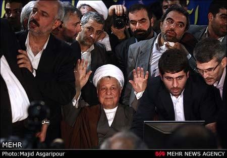 هاشمی در انتخابات92,کاندیداتوری هاشمی انتخابات92