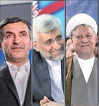 رحیم مشایی,انتخابات ریاست جمهوری,سعید جلیلی,هاشمی رفسنجانی
