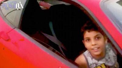 فیلم رانندگی پسر 9 ساله , پسر میلیونر هندی