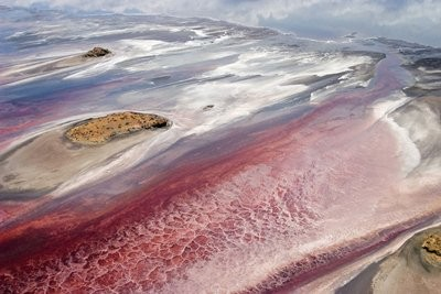 دریاچه نمک ناترون در تانزانیا