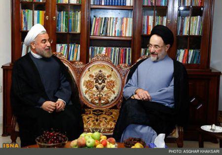 دیدار حسن روحانی و محمد خاتمی, دیدار خاتمی با حسن روحانی