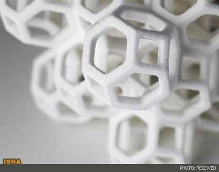مجسمههای سهبعدی که از شکر ساخته شدهاند