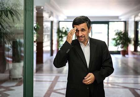 احمدینژاد در روز تحلیف روحانی,تصاویراحمدینژاد در روز تحلیف روحانی