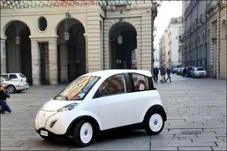 ساخت اتومبیل الکتریکی - خورشیدی برای کاربردهای شهری