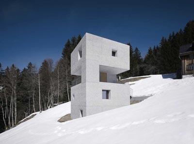 روايت مصور: یک کلبه کوهستانی متفاوت در اتریش
