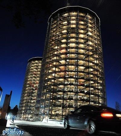 پارکینگ,پارکینگ اتومبیل,پارکینگ خودرو,جالب ترین پارکینگ های دنیا