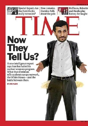 محمود احمدی نژاد,هفته نامه تایم