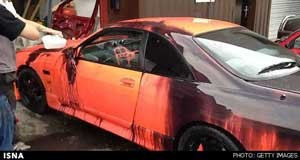 تاثیر دما بر رنگ خودرو , اخبار علمی