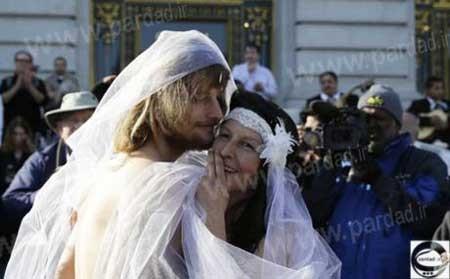 اخبار ,اخبار حوادث ,عروس و داماد عریان