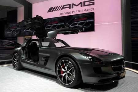 اخبار ,اخبار گوناگون ,مرسدس SLS AMG GT