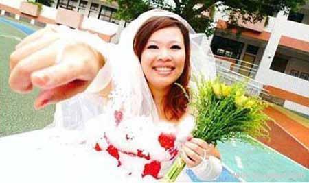 اخبار,اخبار گوناگون,ازدواج دختری با خودش