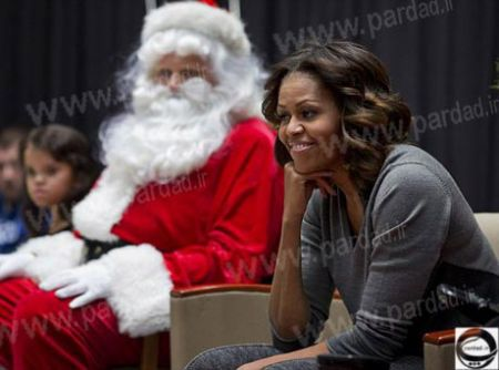 اخبار,اخبار گوناگون,هدیه کریسمس میشل اوباما به همسرش