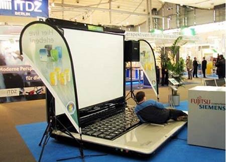 عجیب و غریب ترین لپ تاپهای سال 2013 + عکس