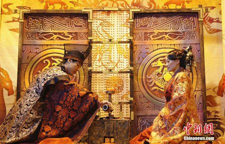 نتیجه تصویری برای جشن عروسی چین