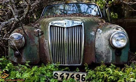 اخبار ,اخبار گوناگون ,قبرستان خودروهای کلاسیک