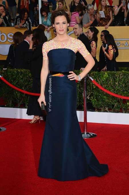 اخبار,اخبار فرهنگی,هنرمندان هالیوودی در مراسم SAG,پوشش Jennifer Garner در مراسم SAG