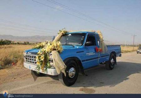 ماشین عروس متفاوت + عکس