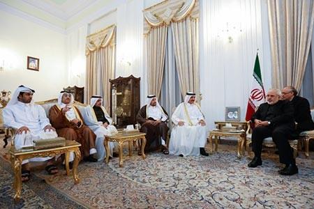 اخبار ,اخبار سیاست خارجی ,دیدار شبانگاهی ظریف با مقامات قطر و تاجیکستان