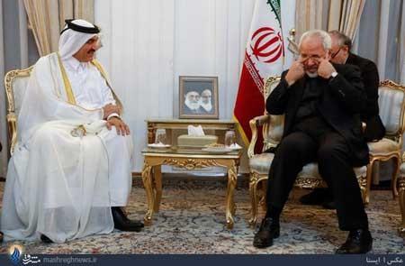 اخبار,اخبار سیاست خارجی ,دیدار ظریف و مقام قطری