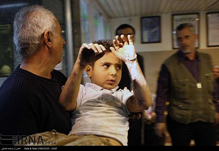 اخبار ,اخبار حوادث ,مصدومان حوادث چهارشنبه سوری