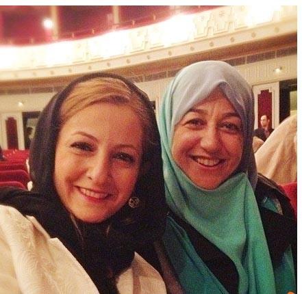 اخبار,اخبار فرهنگی,عکس یادگاری شقایق دهقان بـا همسر ظریـف