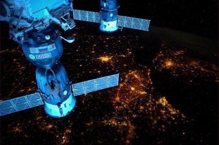 تصویری از ایستگاه فضایی بین المللی
