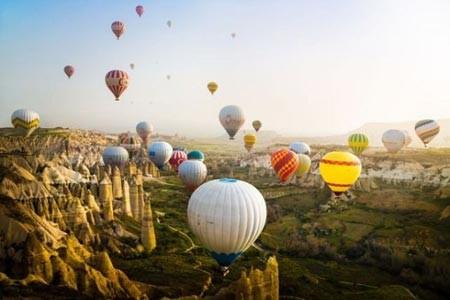 جشنواره بالون ها در ترکیه