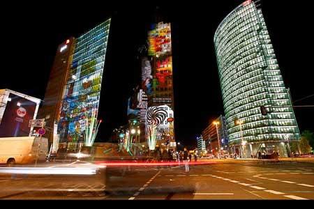 جشنواره نور در برلین  پایتخت آلمان