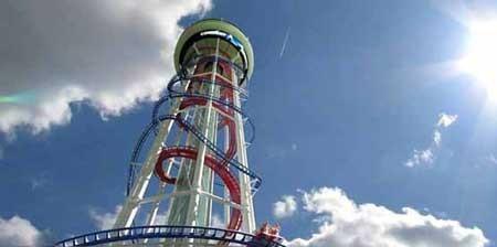 بلندترین ترن هوایی جهان به ارتفاع 158 متر ، فلوریدا