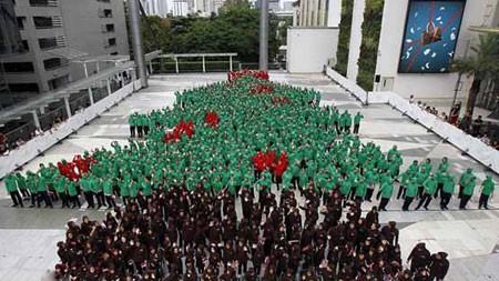 بزرگترین درخت کریسمس جهان