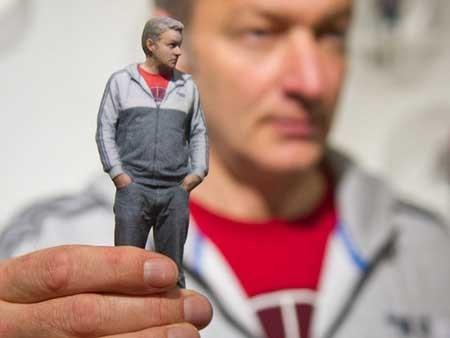افتتاح نخستین فروشگاه چاپخانه مجسمه های سه بعدی از انسان