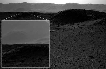 اخبار,اخبارعلمی ,نور در مریخ