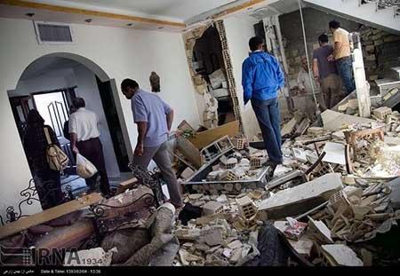 اخبار,اخبار حوادث,انفجار گاز در واحد مسکونی