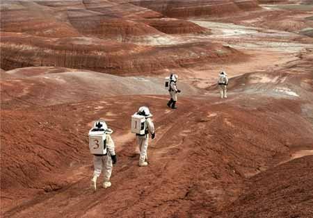زندگی فضانوردان در مریخ +تصاویر