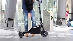 کوچکترین وسیله نقلیه الکتریکی جهان ساخته شد