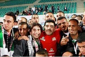 مارادونا را به تماشای بازی ایران و آرژانتین راه نمی دهند!