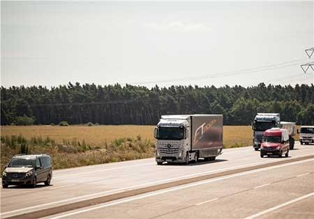 اخبار,اخبار علمی , کامیونهای بدون راننده