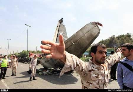 اخبار ,اخبار حوادث , سقوط هواپیمای مسافربری در تهران