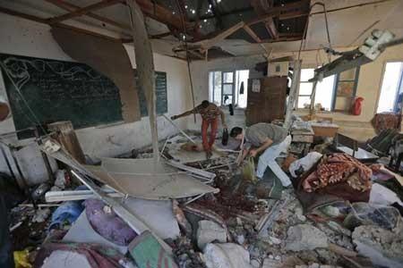 اخبار ,اخبار بین الملل ,بمباران خونین مدرسه در غزه